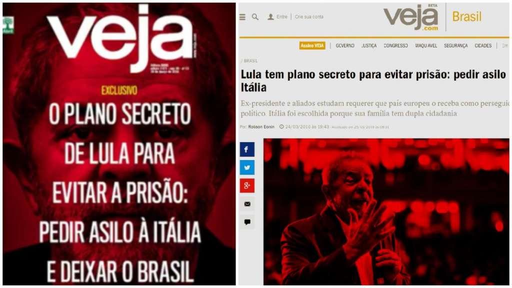 Itália desmente Veja sobre 'plano secreto de Lula'