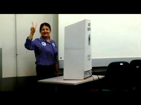 Margareth Diniz vota no 2ª turno e diz acreditar em mais avanços para UFPB