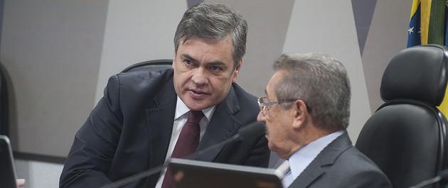 No plenário do Senado, Cássio elogia Zé Maranhão por decisão na Comissão de Constituição e Justiça