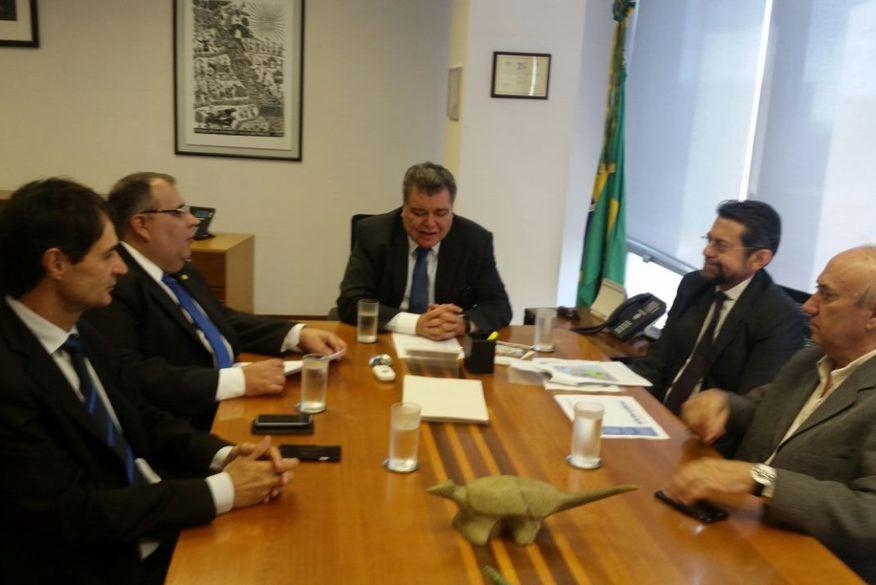 Rômulo tem audiências com ministro das Cidades, Casa Civil e o do Meio Ambiente