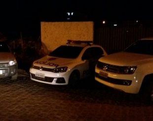 Operação da PRF e Civil apreende carros de luxo clonados