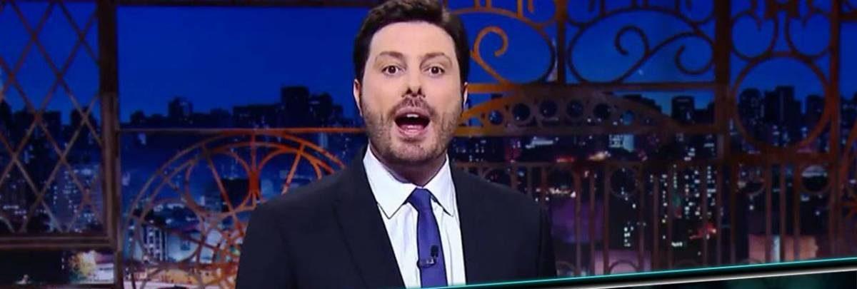 Danilo Gentili responde ator da globo que atacou Silvio Santos