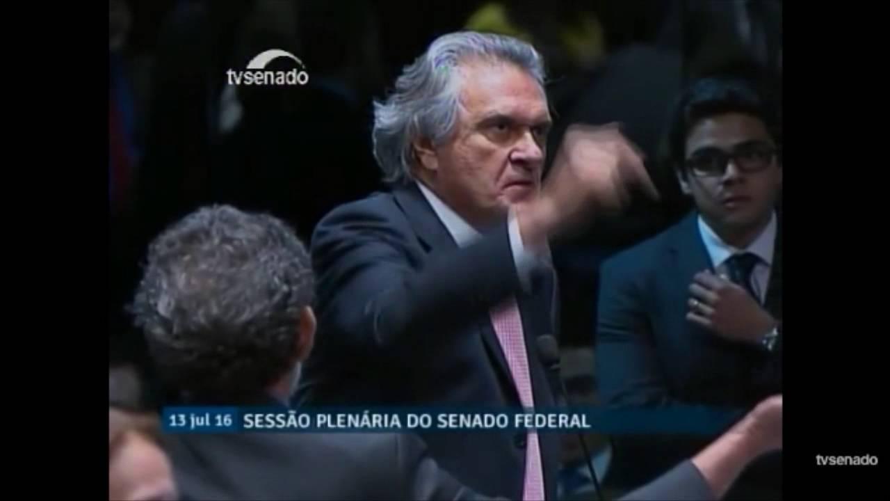 BATE-BOCA NO SENADO: Senador paraibano é acusado de está drogado em plenário