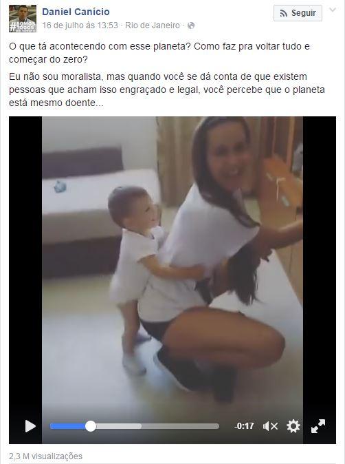 crianca E MULHER REVBOLANDO POST