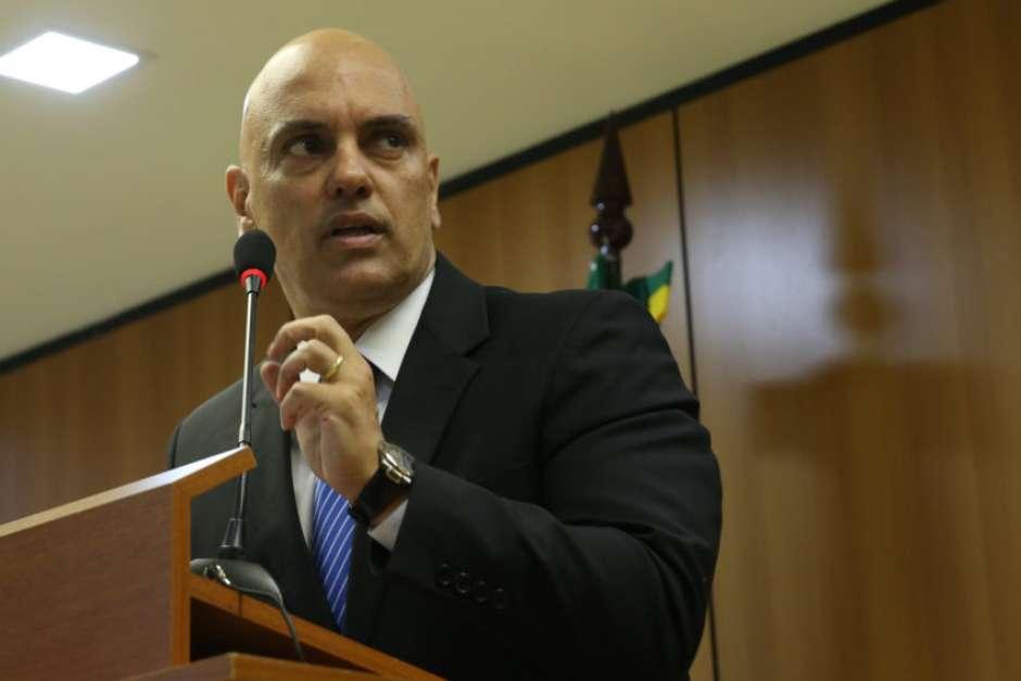 Brasília- DF- Brasil- 21/07/2016- Brasília - O ministro da Justiça, Alexandre de Moraes, em entrevista à imprensa, fala sobre a operação policial que prendeu, um grupo suspeito de planejar atos terroristas a 15 dias da Rio 2016 (José Cruz/Agência Brasil)