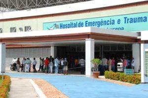 Morre no Hospital de Trauma, criança de 10 anos atingida com tiro na cabeça na capital