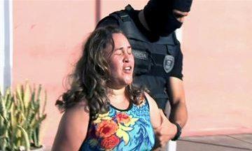 """MÃE QUE MATOU O FILHO COM 50 FACADAS EM CAMPINA JUSTIFICA: """"Foi ordem de satanás, meu pai e meu rei"""""""