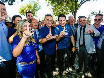 Luciano Cartaxo reúne candidatos a vereador da Coligação Força da União por João Pessoa