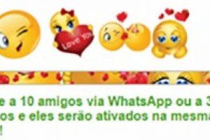 Novo golpe no WhatsApp: pacote de emoticons românticos é falso