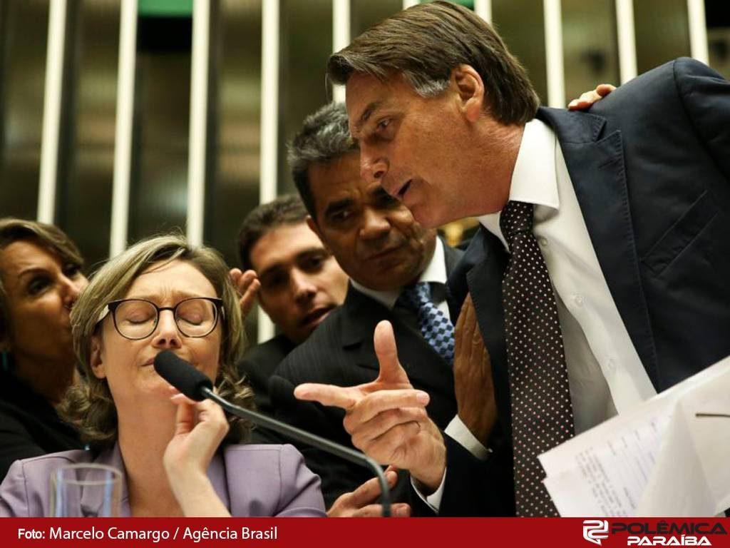 Resultado de imagem para dia da mulher Bolsonaro agride advogada no plenário