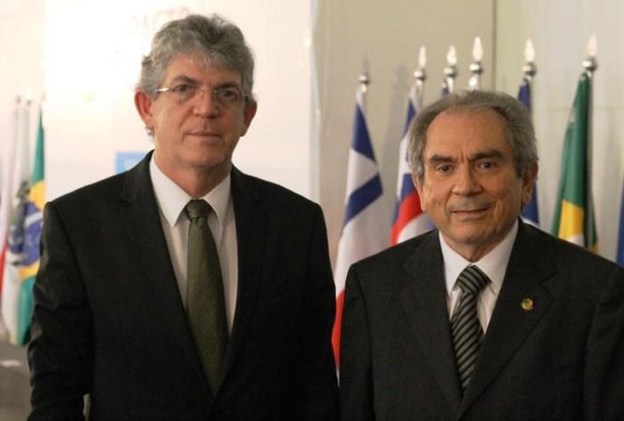 Resultado de imagem para Ricardo Coutinho e Raimundo Lira