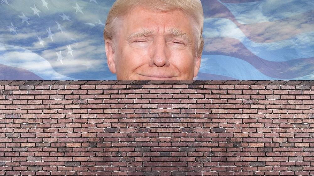 Resultado de imagem para muro trump mexico