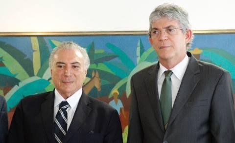 Temer discute ações para minimizar impactos da seca na Paraíba
