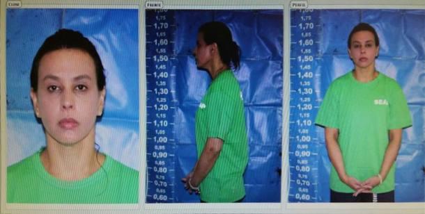 Veja foto do registro de prisão da mulher do ex-governador do Rio