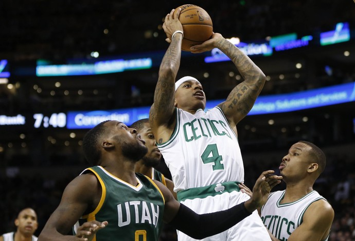 Isaiah Thomas comanda outra vez, Celtics vencem o Jazz e mostram força