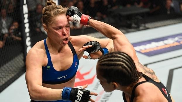 Ronda Rousey recebe 45 dias de suspensão médica após derrotada por brasileira