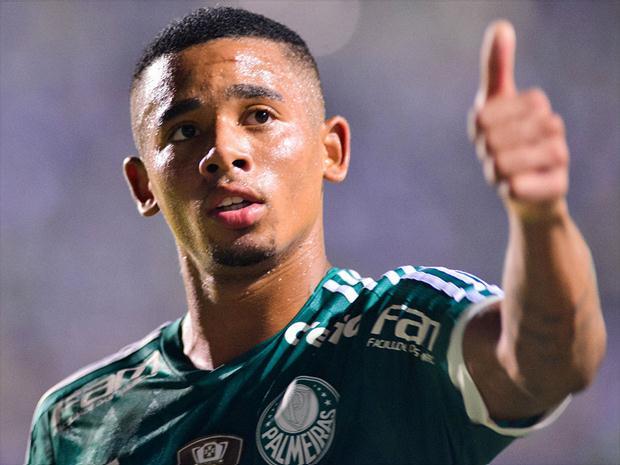 Gabriel Jesus se despede do Palmeiras com mensagem emocionante de agradecimento