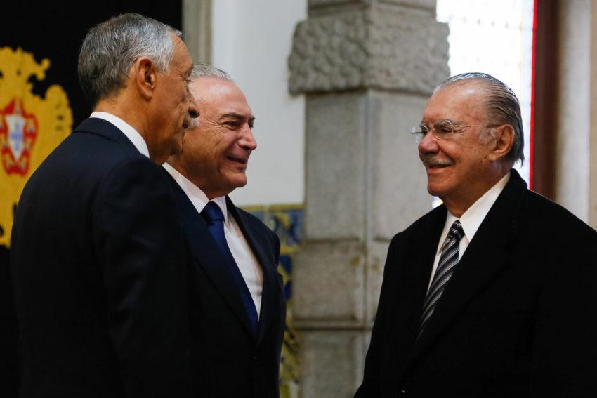 (Lisboa - Portugal 10/01/2017) Encontro com o Presidente da República Portuguesa, Marcelo Rebelo de Sousa. Foto: Isac Nóbrega/PR