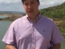 Advogado causa polêmica ao 'mostrar a verdade' sobre a falta d'água no Sertão da Paraíba; VEJA O VÍDEO