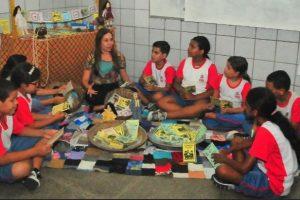 Uso do cordel ajuda escola de João Pessoa a liderar ranking de educação