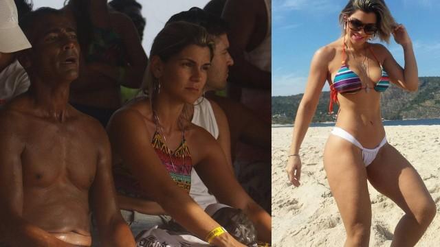 Romário assume namoro com Érica Cyriaco, de 30 anos; conheça a moça