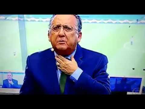 Galvão Bueno reclama, ao vivo, do estádio do Botafogo