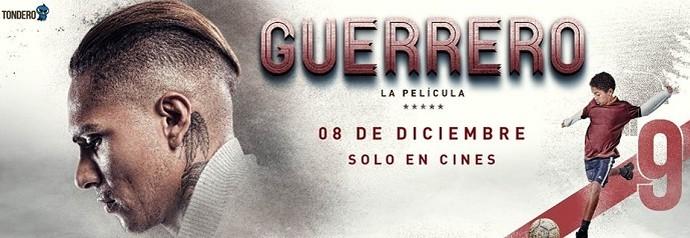 guerrero peru1 - Guerrero aproveita férias para lançar filme e projeta triunfos do Fla em 2017