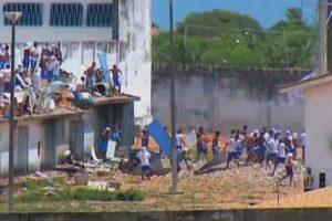 Nova rebelião em Alcaçuz sai de controle e PM não consegue conter