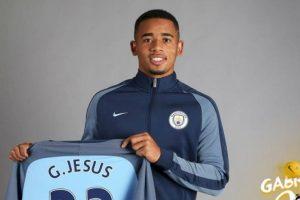 Manchester City oficializa contratação de Gabriel Jesus