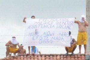 Detentos são transferidos da Colônia Penal Agrícola em Sousa