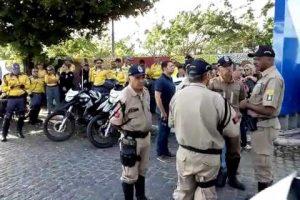Protestos pela morte do agente do Detran param serviços em João Pessoa