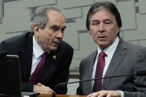 Eunício tem ampla vantagem para presidência do Senado