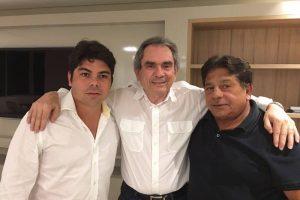 O Deputado Ricardo Marcelo declara apoio a Raimundo Lira na briga dentro do PMDB