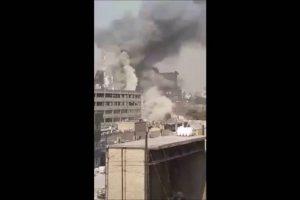 VEJA VÍDEO – Edifício de 15 andares desaba e mata bombeiros