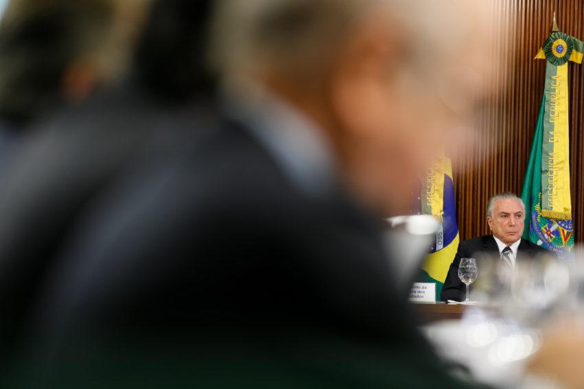 (Brasília - DF, 21/02/2017) Reunião com a Comissão de Reforma da Previdência. Foto: Beto Barata/PR