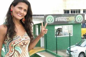 Jornalista Paraibana é nova integrante da equipe de comunicação do Chapecoense