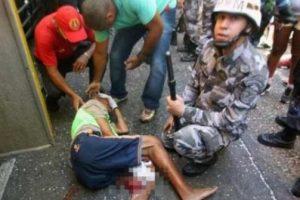 ACIDENTE: Cordeiro é atropelado e tem uma das pernas dilaceradas em circuito do Carnaval