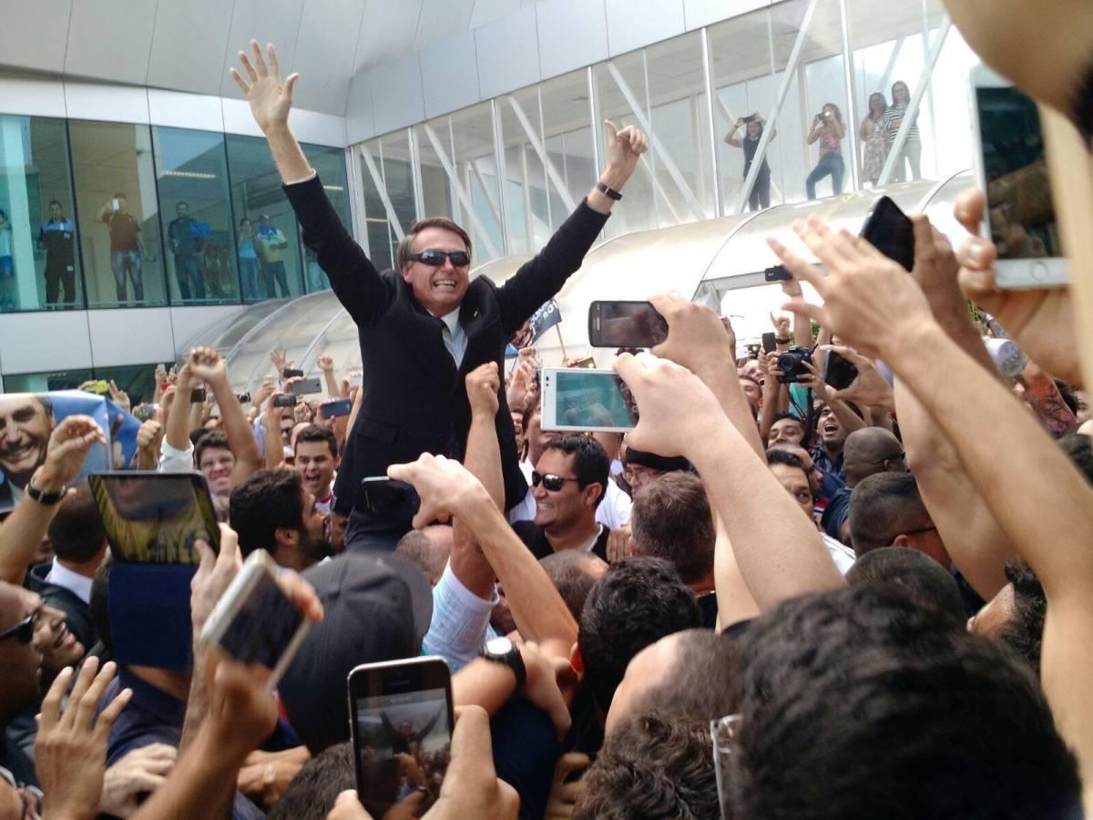 De olho em 2018, Jair Bolsonaro desembarca na Paraíba nesta quarta-feira
