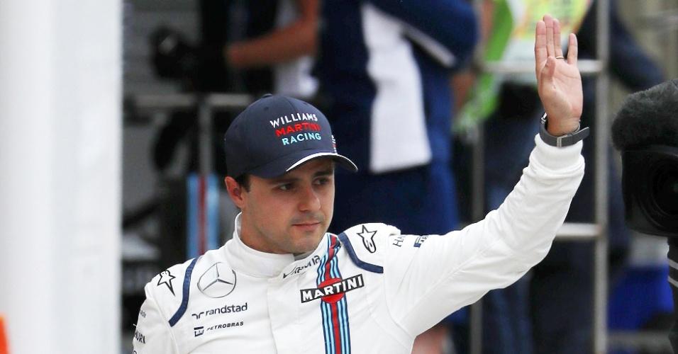 Felipe Massa diz que planejava estar curtindo as férias nesse momento