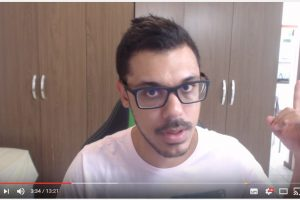 "VEJA VÍDEO: ""Youtuber"" do Espirito Santo relata o terror instalado no estado"