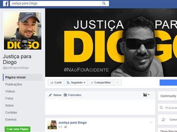 Página no Facebook pede justiça para agente morto durante blitz da Lei Seca