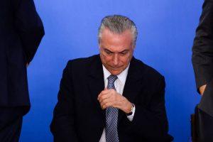Em nota, Temer diz que pediu 'auxílio formal e oficial' à OdebrechtPalácio do Planalto divulga comunicado com mensagem de que presidente não tem qualq