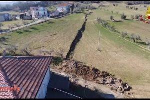 VEJA VÍDEO: vilarejo na Itália está se partindo ao meio