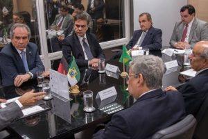 CONSÓRCIO EMSA/SITON:  Ministro anuncia aos senadores que licitação do Eixo Norte está concluída e obras serão reiniciadas