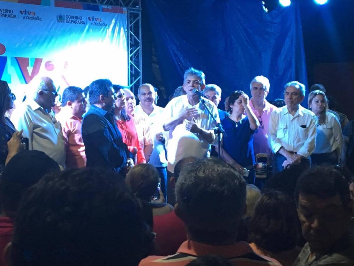 Ricardo Coutinho inaugura primeira etapa do Parque Parahyba, em João Pessoa – VEJA VÍDEO
