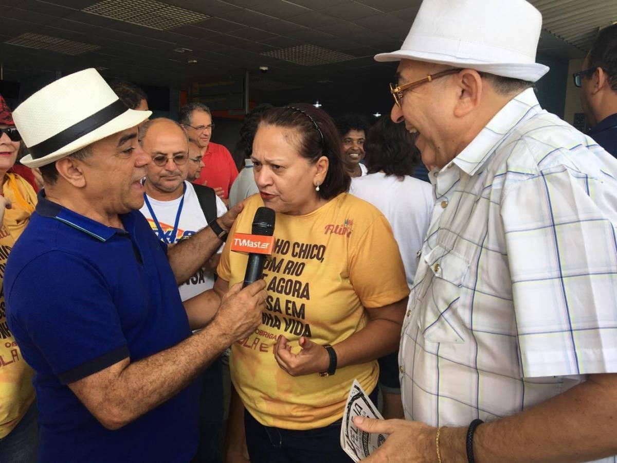 A seca deixou marcas terríveis em gerações de nordestinos, afirma Fátima Bezerra