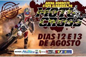 Alhandra entra na rota do Motocross e sediará etapa do maior campeonato do Nordeste