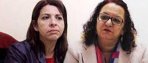 """Sandra e Eliza se estranham e não vão as """"vias de fato"""" por intervenção de jornalistas"""