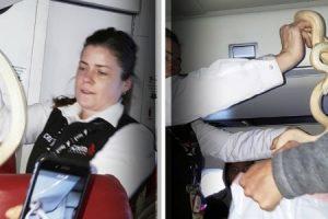 """""""Atenção, temos uma cobra à solta no avião"""", avisa piloto durante voo"""