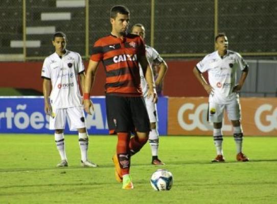 Botafogo perde para o vitória e se despede da copa do nordeste